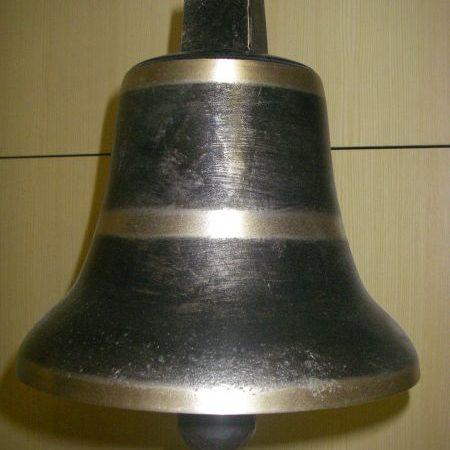 Bronzeglocke mit geschmiedetem Stahlschwengel klein