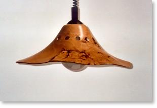 Lampenschirm aus Kirschholz